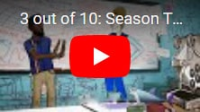 Бесплатная 3 Out of 10 - Season Two: раздача анимационной игры про команду игроделов неудачников и их приключения, в Epic Games Store