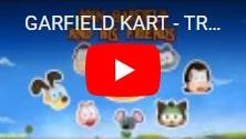 В подарок Garfield Kart: бесплатная мультяшная игра, гонки с рыжим котом и его друзьями на IndieGala