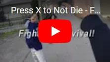 В подарок Press X to Not Die: бесплатное интерактивное кино, бескомпромиссная игра про ужасы человеческого бытия на IndieGala