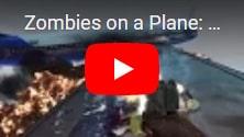 В подарок Zombies on a Plane Deluxe: бесплатная хардовая игра про выживание среди зомби на борту самолета, на IndieGala